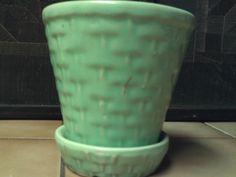Vintage Morton USA flower pot