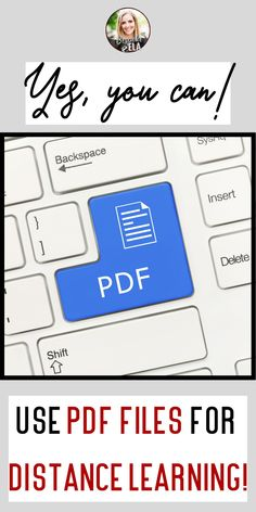 Teaching online certainly comes with its share of obstacles and roadblocks. It also forces us as educators to become more innovative in our practices and approaches; however, there are so many amazing tech tools to help circumvent these issues— even if a file happens to be a PDF. Here are three ways to use PDF files for online teaching, distance learning. #covidteaching #teachertips #techtips #onlineteaching #distancelearning #remoteteaching Classroom Procedures, Classroom Organization, Classroom Management, 21st Century Classroom, Free Lesson Plans, Digital Literacy, 21st Century Skills, High School English, English Classroom