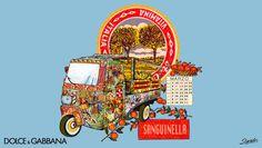 Dolce gabbana Sicilian cart