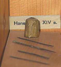 14th c thimble from russia Novgorod Museum