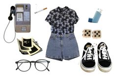 """""""head.cars.bending"""" by thishazyheadofmine on Polyvore featuring Ann Taylor, RetroSuperFuture and Vans"""
