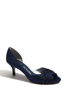 Nina 'Culver' d'Orsay Pump available at #Nordstrom - bridesmaid possibility in grey