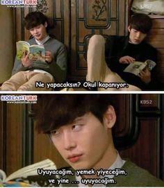 Uyu ye uyu mükemmel ikili D School, School 2013, Film Quotes, Funny Quotes, Liar And His Lover, Lee Jung, Lee Jong Suk, Kdrama, Korean Drama