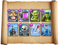 Best Clash Royale Card Deck http://ift.tt/1STR6PC