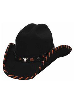 90e5a694d58e6 Bullhide Children s Little Maverick Black Wool Cowboy Hat. Western  HatsCowgirl ...