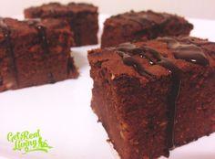 Chocolate PnB Brownies... grainfree paleo sugar free and made with sweet potato!  yum! http://getrealliving.com.au/