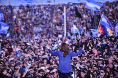 CFK presentó Unidad Ciudadana ante una multitud | Página12