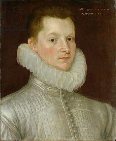 1579 Title: John Smythe of Ostenhanger (now Westenhanger) Kent, 1579 (oil on panel) Creator: Ketel, Cornelis (1548-1616) Nationality: Dutch Location: Yale Center for British Art, Paul Mellon Collection, USA