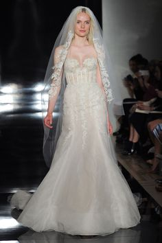 Reem Acra 2017 wedding dress collection - Brides reviews collection from New York Bridal Fashion Week April 2016 (BridesMagazine.co.uk)