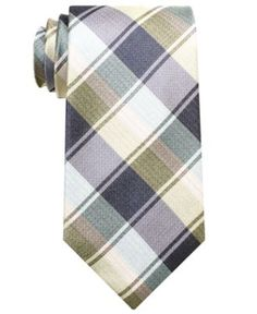 Perry Ellis Tie, Bromley Plaid - Mens Ties - Macy's