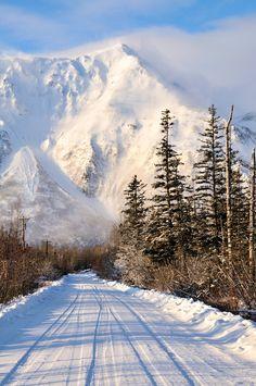 ***Windy and cold: Old Nash Road and Iron Mountain (Seward, Alaska) by Dan Logan cr.c.