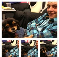 Aww Ross and Pixie