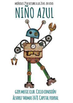 Niño Azul // Álvarez Thomas 1078 // 29/10 // 20h