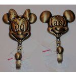 8963379 Image 1 MICKEY MOUSE MINNIE MOUSE BRASS HOOKS NWT DISNEY PARKS