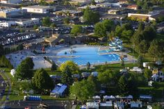Moses Lake, WA : Moses Lake Aquatic Center. User comment: park has expanded - old pic