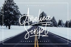 Ameliea Script by sizimon on @creativemarket