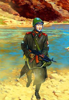 Soviet Motor Rifles in Afghanistan Fun World, Army Uniform, Red Army, Soviet Union, Cold War, World History, Afghanistan, Empire, Military