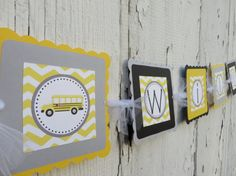 Items similar to School Bus Birthday Party, Bus Party Name Banner, School Bus Decorations, School Bus Birthday Sign, Choose The Colors on Etsy Magic School Bus, Party Names, Birthday Name, Party Bus, Name Banners, Birthday Decorations, Birthday Celebration, Clip Art, Boys
