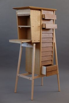 Japanese Woodworking, Woodworking Box, David Gates, Plywood Design, Cabinet Makers, Wood Sculpture, Furniture Making, Wood Projects, Shelving
