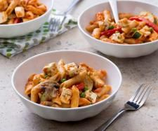 Recipe Tomato pasta with vegetables and feta by Thermomix in Australia - Recipe of category Main dishes - vegetarian