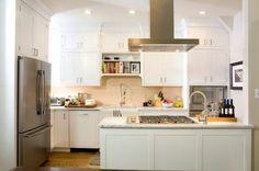 Kitchen Peninsula Cooktop, Transitional, kitchen, Brunelleschi Construction