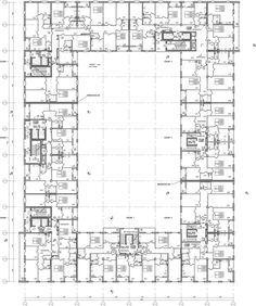 ЖК «Царская столица». 2 очередь. 3Б, типовой этаж © Евгений Герасимов и партнеры