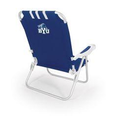 BYU Cougars Monaco Beach Chair (Blue)