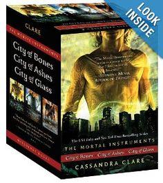 The Mortal Instruments: City of Bones; City of Ashes; City of Glass (Mortal Instruments, The): Cassandra Clare: 9781442409521: Amazon.com: Books