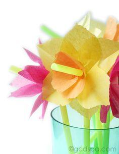 Flower straws- simpl