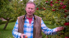 GREAT BRITISH GARDEN REVIVAL - Toby Buckland (Fruit Trees) in West Dean Gardens