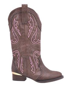 Another great find on #zulily! Brown Rascally Boot #zulilyfinds