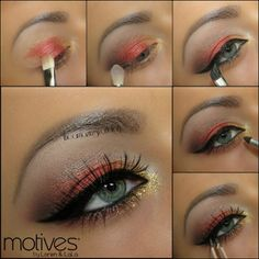 Motives by Loren Ridinger  For all of you in Canada who loves Motives, we have a special look just for you using Motives Fire & Ice Holiday Kits!