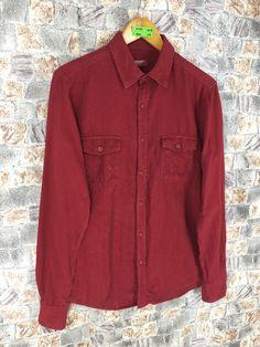 Excited to share this item from my #etsy shop: Vintage Arizona Denim Shirt Shirt Mens Medium 90's Flannel Denim Jeans Buttondown Red Button Up Flannel Size M #weddingflannel #menbuttonupred #denimflannelred #redcasualbuttonup #menjeansshirt #mendenimshirts #ralphlaurenoxfords #plainoxfordred #plaindenimoxford Red Button, Denim Button Up, Button Up Shirts, Flannel Shirt, Denim Shirt, Denim Jeans, Arizona, Ralph Lauren, Etsy Shop