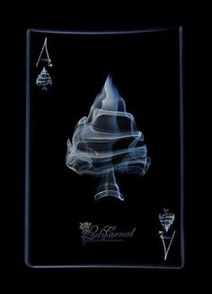 Ace of spades by LadyCarnal on DeviantArt Paper Journal, Spade Tattoo, Ace Card, Play Your Cards Right, Playing Cards Art, Totenkopf Tattoos, Joker Card, Smoke Art, Ace Of Spades
