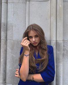 Elite Model, Xenia Tchoumitcheva, Good Cause, Beautiful Long Hair, Pretty Face, Brown Hair, Portrait Photography, Hair Color, Russia