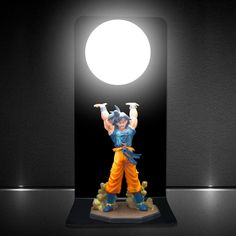 Led Night Lights Dragon Ball Lamp Led Dragon Ball Z Son Goku Figures Night Light Dragon Ball Super Goku Genki Dmaspirit Bomb Table Lamp Bulb Dbz Making Things Convenient For The People Lights & Lighting