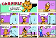 Garfield | Daily Comic Strip on April 1st, 1990