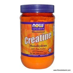 Купи Now Creatine Monohydrate Powder на ниска цена от онлайн магазин fitnesidobavki.com. Имаме разфасовки от 227 грама, 600 грама и 1000 грама.