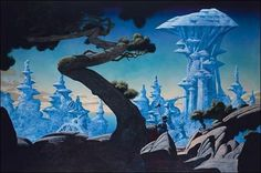 Freyja's Castle - Roger Dean (artist) - Wikipedia, the free encyclopedia