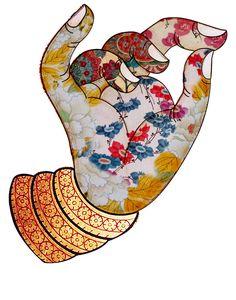 nijyoyamatoya sarasatic ishtar hand Ishtar nijyoyamatoya SARASATIC HANDYou can find Thai art and more on our website Art Buddha, Buddha Painting, Tibet Art, Pichwai Paintings, Art Asiatique, Indian Folk Art, Thai Art, Art Et Illustration, Art Graphique