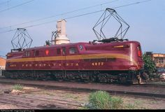 RailPictures.Net Photo: PRR 4877 Pennsylvania Railroad GG-1 at South Amboy, New Jersey by Doug Lilly