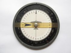 German Dreieckrechner DR2 (LUFTWAFFE FLIGHT NAVIGATION COMPUTER www.antiquesaryan.com Ww2, Germany, Clock, Home Decor, Watch, Decoration Home, Room Decor, Deutsch, Clocks