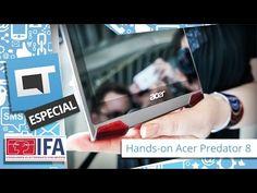 Acer Predator 8, um tablet feito sob medida para gamers [IFA 2015] - YouTube