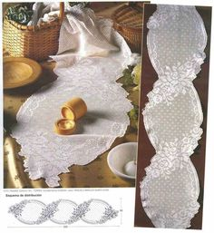 centro lungo   Hobby lavori femminili - ricamo - uncinetto - maglia
