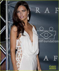 Adriana Lima: Brazil Foundation Gala!