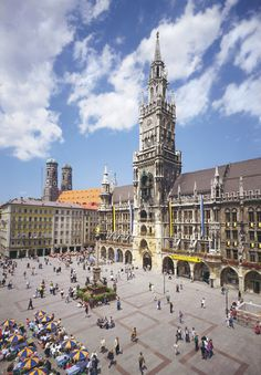 Munich, Bavaria, Germany -- how can one describe this beautiful city that has more to offer than just visiting Marienplatz...get out & visit the many, many breweries, at least 15 of them