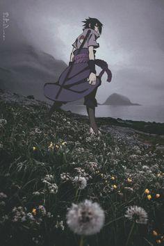 Sasuke in the field ^_^