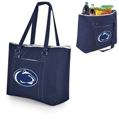 Get the perfect accessory to let everyone know you support the Penn State Nittany Lions! This Tahoe XL Beach Bag Cooler Tote has Penn State Nittany Lions graphics that will show off your die-hard team pride. Picnic Bag, Nittany Lion, Indianapolis Colts, Pool Towels, Tennessee Titans, Black Tote Bag, Large Tote, Lions, Diaper Bag