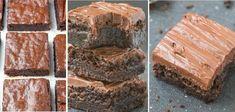 Fitness zdravý čokoládový koláč - Receptik.sk Brownies, Deserts, Sweets, Baking, Food, Diet, Cake Brownies, Gummi Candy, Candy