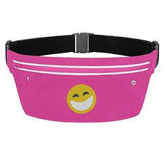 Happy Face Emoji Smile Logo Waist Bag Fanny Pack -- Find out more about the great product at the image link.